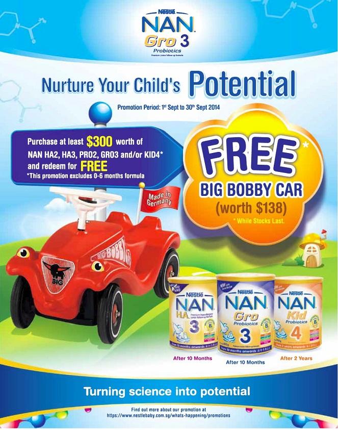Nestle nan promotion singapore