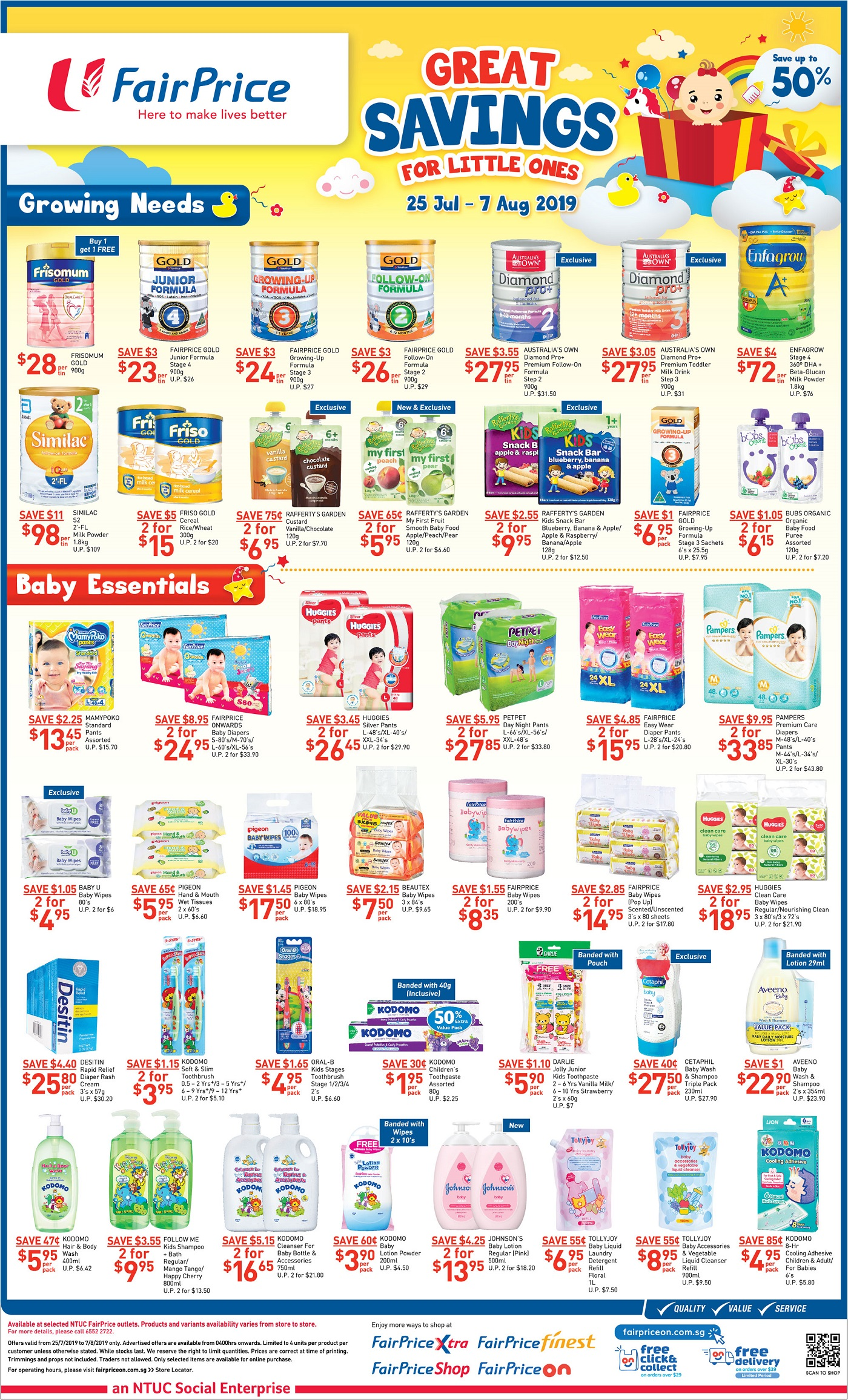Baby clothes promotion, infant baby promotion, maternity clothes promotion in Singapore