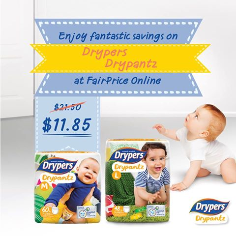 Diaper Promotion Singapore- Pampers, Huggies, Merries