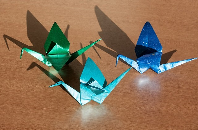 Origami suitable for children at home as home activities. Health benefit of origami for children and kids