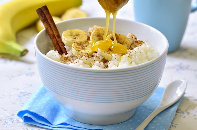 Baby food recipe banana rice pudding suitable for 8 months to 10 months old baby ingredients forumfinder Gallery