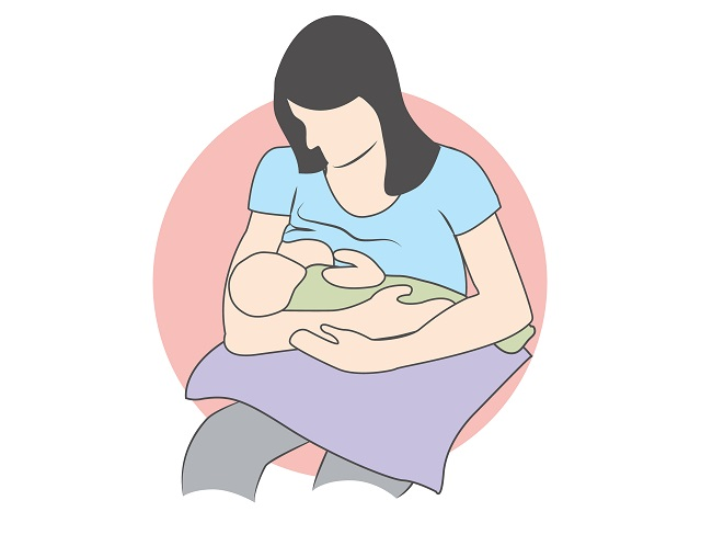 Breastfeeding positions: cradle position, cross-cradle position, back-lying position, football or clutch position and Australian hold position. A correct position must be comfortable to you and it should be pain-free. If you feel pain, detach your baby gently and try again.
