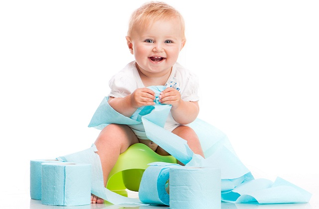 Step by step guide on potty training