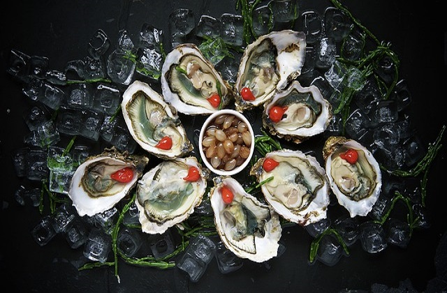 Oyster is good for fertility in men and women and can help to increase chance of conception