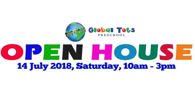 Global Tots Preschool Open House @ Admiralty Road East/Sembawang Place