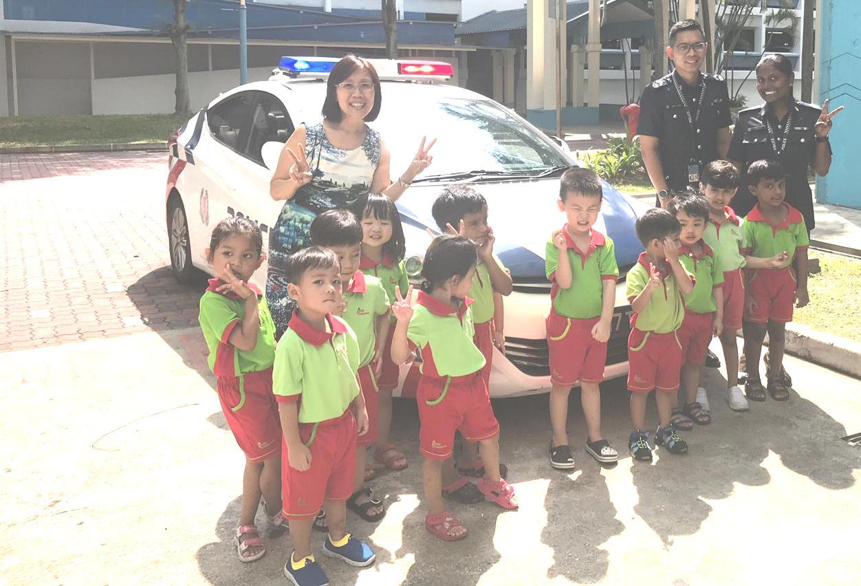 School Tour of Little Treasures Childcare