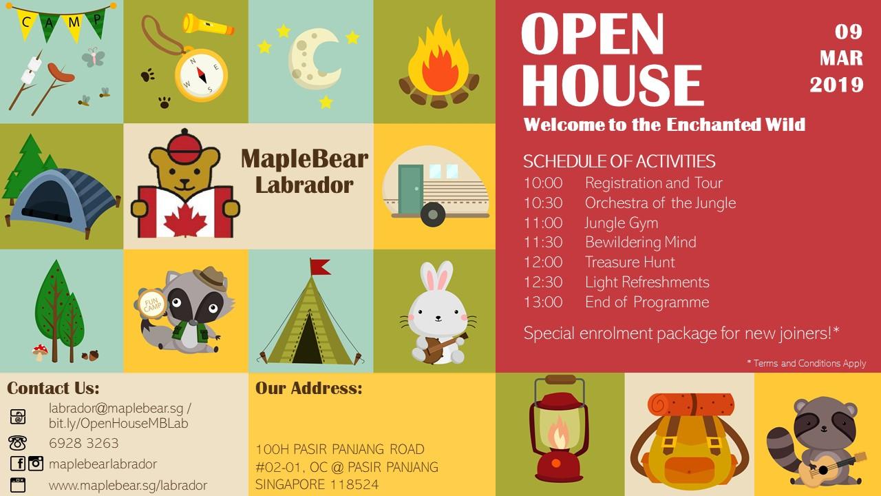 MapleBear Labrador Open House