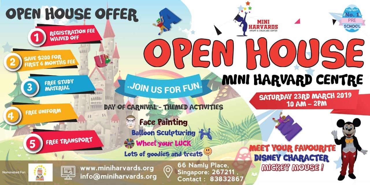 Mini Harvards Open House
