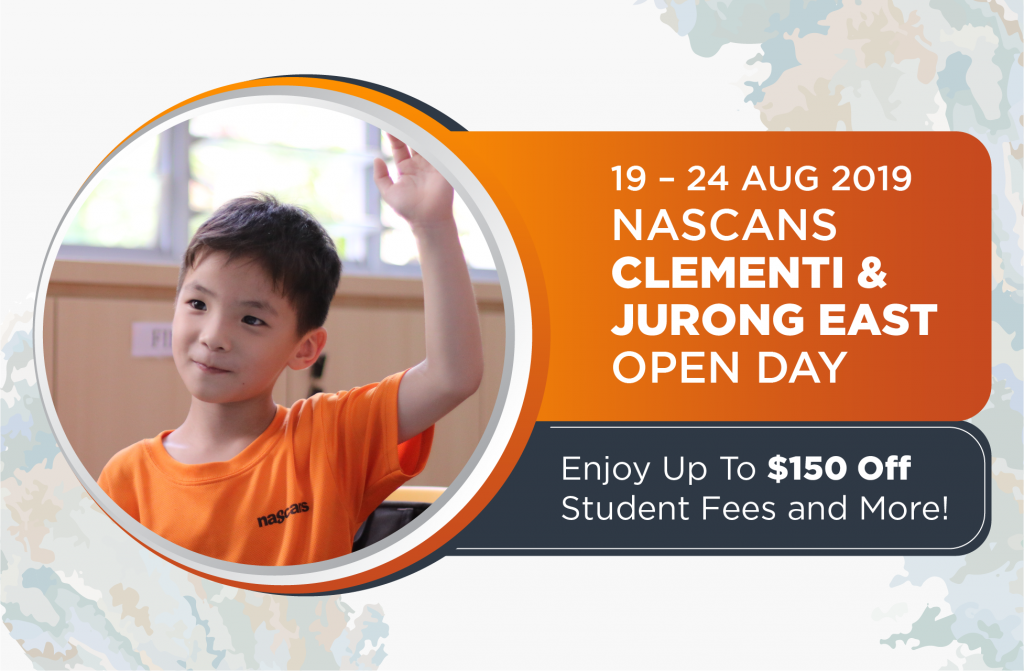 Nascans Clementi & Jurong East Centre Open Day