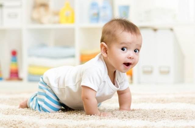 This article explains the growth of nine-month-old babies in their speech and language development, movements or motor skills and emotional and social development.