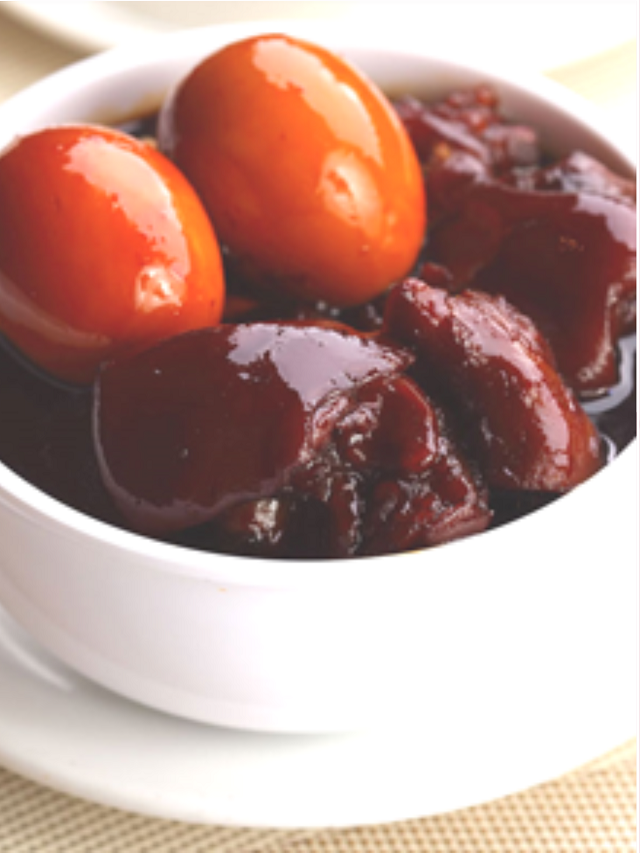 Traditional cantonese cuisine black vinegar pig trotters for Authentic cantonese cuisine