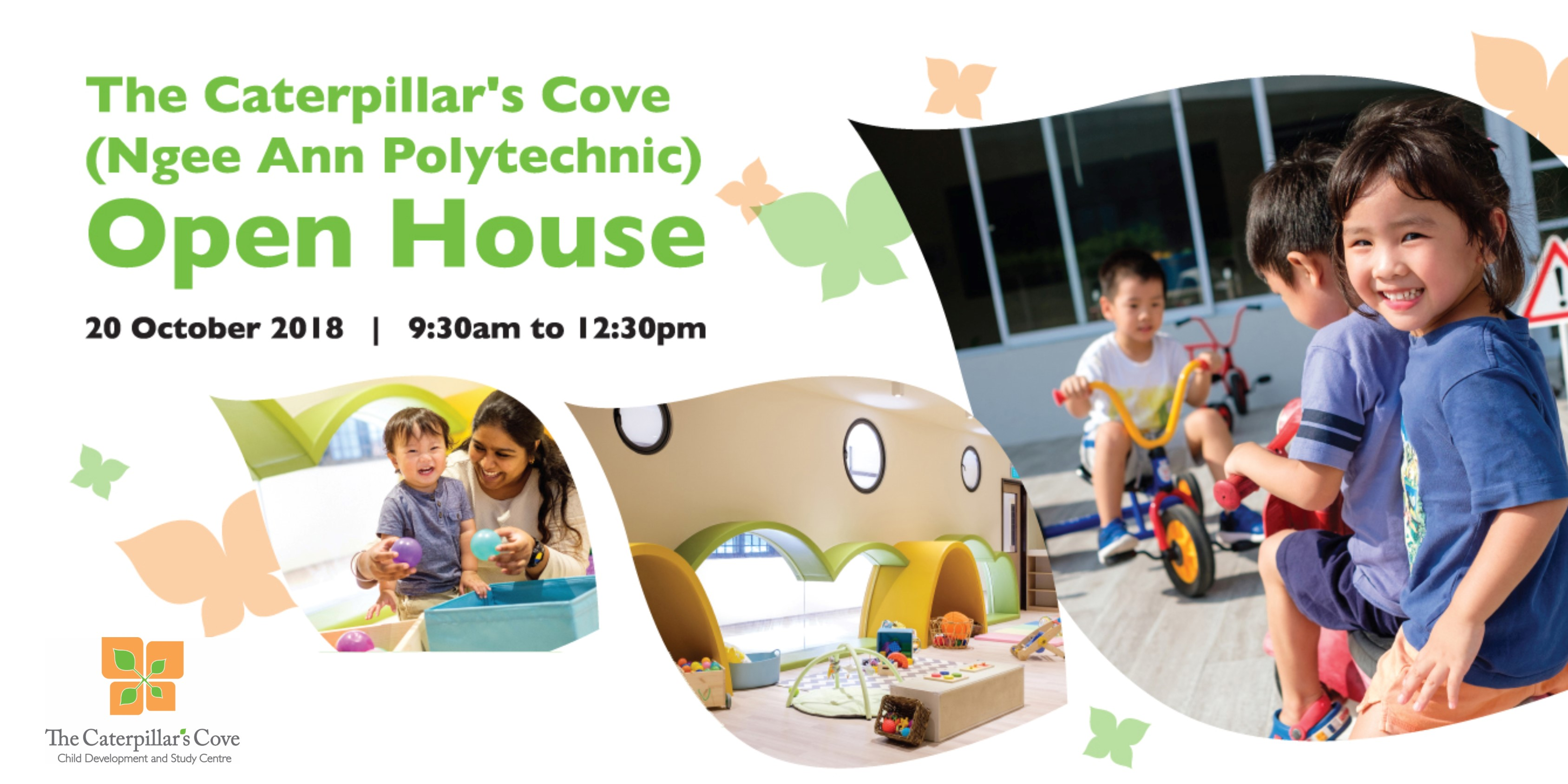 The Caterpillar's Cove (Ngee Ann Poly) Open House