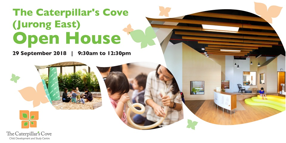 The Caterpillar's Cove Open House