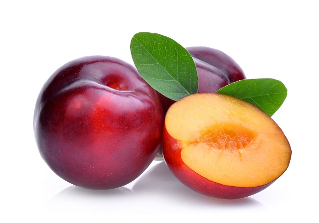 Plum puree for 6 months to 8 months old baby